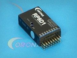 CORONA RP8D1 - odbiornik 8 kanałowy 40MHz z syntezą