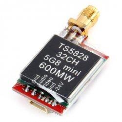 Nadajnik FPV TS5828 5,8GHz Mini TX 600mW