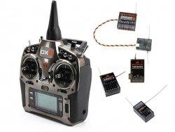 Aparatura DX9 DSMX Spektrum AR8000, AR610, AR400, TM1000