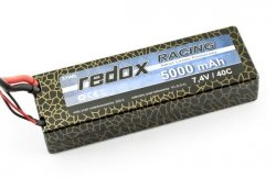 Akumulator Li-Po REDOX 5000 mAh 7,4V 40C