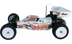 Model Buggy RC Team C 1:10, Jekyll 2WD, TR02 KIT do samodzielneg