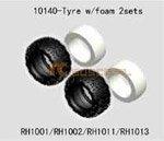 Tyre w/foam 2sets