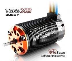 Silnik bezszczotkowy Toro X8T 2650KV SkyRC 1/8