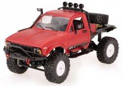 Ciężarówka WPL C14 1:16 4x4 2.4GHz RTR - Czerwony