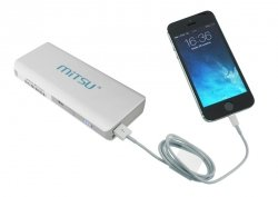 Bateria Przenośna MITSU PowerBank SOLO 5 - 10400 mAh