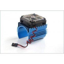 HobbyWing - Radiator na silnik klasy  700 z wentylatorem