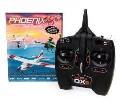 Phoenix RC Pro V5.5 symulator + DXe Mode 1-4