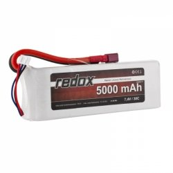 Redox 5000 mAh 7,4V 30C - pakiet LiPo