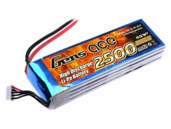 2500mAh 14.8V 25C Gens Ace