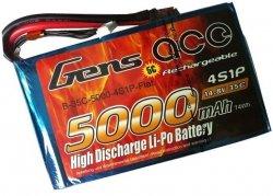 5000mAh 14.8V 35C Flat Pack Gens Ace