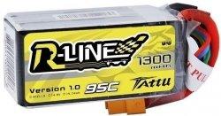 1300mAh 14.8V 95C TATTU R-Line Gens Ace