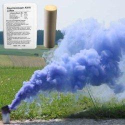 Świeca dymna AX-18 niebieska - 5szt