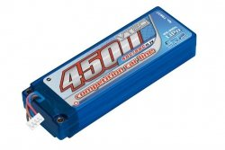 4500mAh 11.1V 80C/40C HardCase LRP Competition Car Line