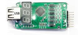 Ładowarka urządzeń USB 1.5A 2-6S z wskaźnikiem