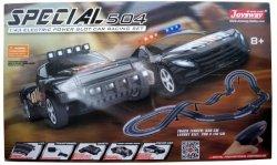 Zestaw Slot Cars Superior 504 1:43 - 530cm, 2 mosty, skok, ściana, 240V