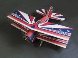 Samolot DW PITTS EPP KIT (850mm) + Motor + ESC + 4x Serwo