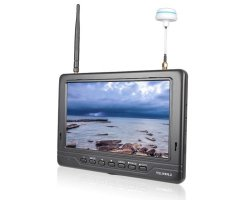 Monitor FPV FPV718 (7, 600p, 5.8GHz, 40CH, 2200mA, HDMI, 18mm grubości)