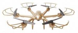 MJX X601H Hexacopter RTF (Kamera FPV 480p, 2.4GHz, żyroskop, barometr) - Złoty