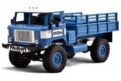 Ciężarówka wojskowa WPL B-24 1:16 4x4 2.4GHz RTR - Niebieski