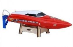 Motorówka Offshore Warrior 2CH 2.4GHz RTR 70km/h - Czerwony