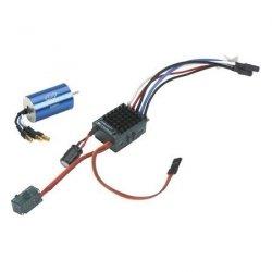 Silnik bezszczotkowy Xcelorin 1:18 8200obr/V + regulator