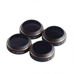 Zestaw filtrów PGY G-HD ND 4/8/16/32 do DJI Mavic Pro