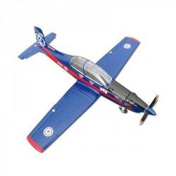 Pilatus PC9 PNP niebieski- Samolot FlyFly Hobby