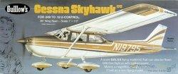 GUILLOWS Samolot z balsy Cessna Skyhawk