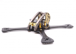 Rama Carbon LX5-220 - Leopard Racing Drone - ramiona 4mm