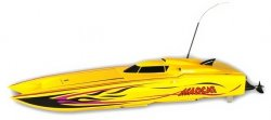 Thunder Tiger Madcat OBL 2.4GHz RTR bezszczotkowa - żółty
