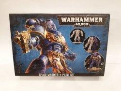 Zestaw farbek i figurek Citadel - Space Marines Paint Set 60-11 - Warhammer 40000