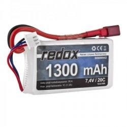 Redox 1300 mAh 7,4V 20C