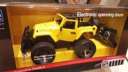Jeep Wrangler z otwartym dachem 1:14 2.4GHz - Żółty