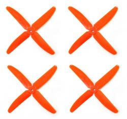 Śmigła DAL Q5030 - orange - Quad-Blade - 5x3x4 - 2xCW/2xCCW - DAL-PROP 4 szt