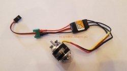 Multiplex SHARK - zestaw napędowy silnik BL-O 2816 i regulator BL-12 SD