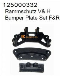 Bumper Plate Set F&R
