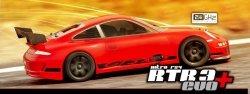HPI NITRO RS4 3 EVO+ 2.4GHz PORSCHE GT-3 RTR