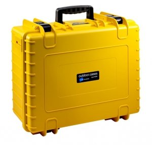 Walizka B&W do DJI Phantom 4 / 4 Adv / 4 Adv Plus / 4 Pro / 4 Pro Plus żółta