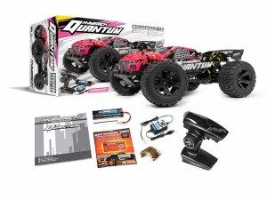 NOWOŚĆ! MAVERICK Quantum XT Szczotkowy 1/10 4WD Truggy RTR (Pink-Różowy)