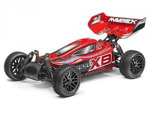 Maverick Strada Red XB 1/10 RTR Electric Buggy Bezszczotowa 2,4 GHZ Waterproof