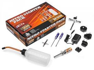 HPI Nitro Starter Pack EU-USA-UK-ASIA-AUS