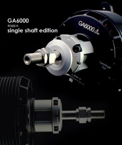 SILNIK GA6000.8S kv180 6800W 12S LI-PO