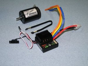 Silnik trójfazowy EXCEED Car 1:10 13.5T S + regulator