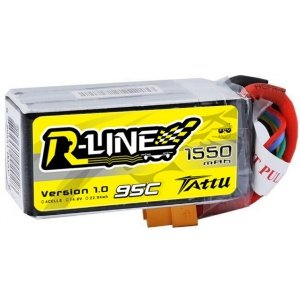 Akumulator Tattu R-Line 1550mAh 14,8V 95C 4S1P