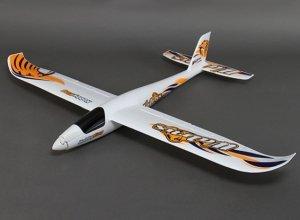 MOTOSZYBOWIEC  Walrus ARF Glider w/Flaps EPO 1400mm rozpiętości bezszczotkowy - silnik (6xserwa) regulator klapy i lotki