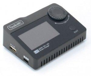 Zaawansowana Ładowarka procesorowa Toolkitrc m8 15A 300W 1-8S.  Dodatkowe funkcje multitester Baterii, PWM, PPM , SBUS praca jako zasilacz i ładowarka USB