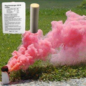 Świeca dymna AX-18 czerwona - 5szt