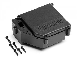 Waterproof Receiver Box plastic parts (Trophy Nitro Series)