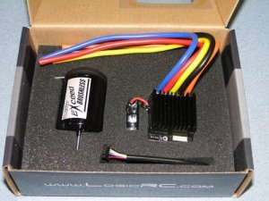 Silnik trójfazowy EXCEED Car 1:10 6.5T S + regulator