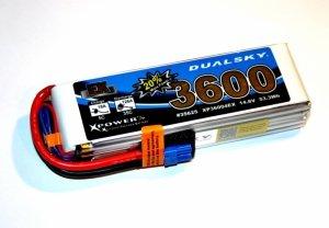 Akumulator Dualsky 3600 mAh 35C/5C 14.8 V 4s